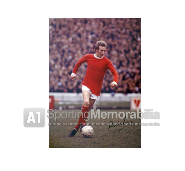 denis-law-autographed-manchester-united-photo