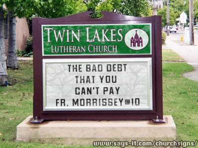 Fun Church Signs