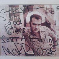 morrissey autograph