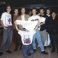 Group following the tour 1992