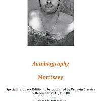 autobiography morrissey special hardback release