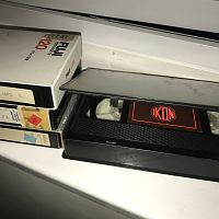 Hacienda 1983 Ikon VHS + other original promotional VHS tapes